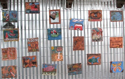 Wall of Tiles